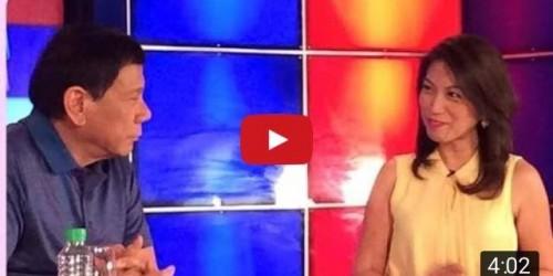 "Mayor Duterte:  ""ipapalunok ang bala""… and more Tanim-Bala Updates"