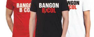 "Order Now: ""Bangon Bicol"" Tee Shirts and help raise funds"