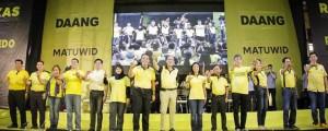 PANGULONG P-NOY PINANGUNAHAN ANG PANGANGAMPANYA NG ROXAS- ROBREDO TANDEM