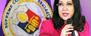 Pagbili ng P5.1 million luxury vehicle ng chief justice may pahintulot ng batas.