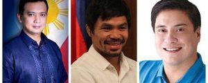 Pacman naging referee sa bakbakang Trillanes-Zubiri