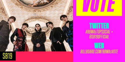 "Vote: SB19 for ""BBMAs Top Social"" until May 23, 2021"