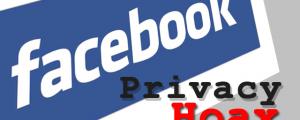Facebook Privacy Status Post Hoax