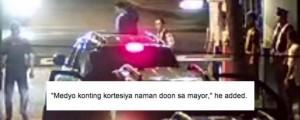 Ganito Kami sa Makati – close-up of CCTV footage of Binay's Banyan gate scandal