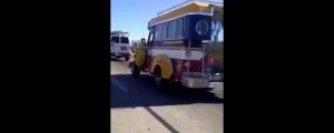 Philippine Jeepney Spotted on California Freeway