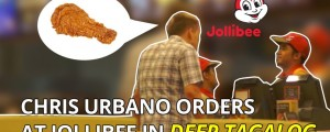 White guy orders at Jollibee in deep Tagalog