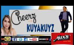 Watch: CHEERZ with KUYAKUYZ ( 8/27/17) with special guest, Ms. Chiqui Pineda