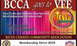 BCCA Membership Drive at Vaughn Fiesta Extravaganza 2018
