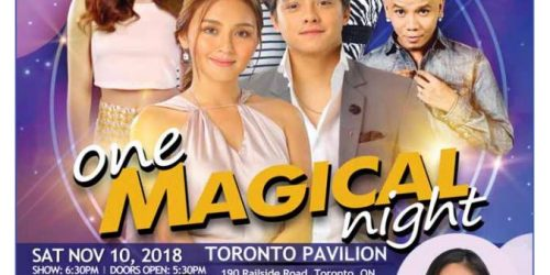One Magical Night 2018 – LIVE IN TORONTO