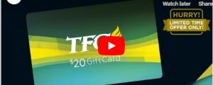 TFC Online Gift Card: I-card mo na!