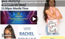 MORNING BYTES – Rachel Bergado (Sept 20, 2017)