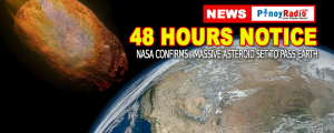 NASA Confirms Massive Asteroid Set to Pass Earth in 48 Hrs