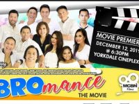 "Watch: ""BROmance The Movie"". Premiere night is at Cineplex Theatre, Yorkdale Mall on Dec.12, 2019 @6:30pm"