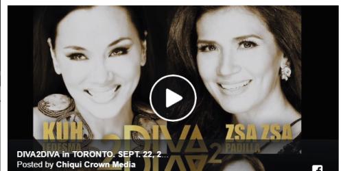Watch: Diva2Diva Live In Toronto Sept 22, 2018 @7pm Toronto Pavillion