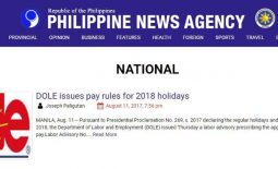 PNA inulan ng batikos matapos i post ang maling logo ng DOLE (Department of Labor and Employment ) sa halip ang DOLE (Pineapple Philippines) ang ginamit