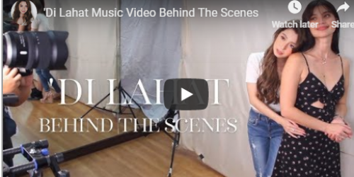 """Watch: Donnalyn Bartolome's Behind The Scenes from """"Di Lahat"""" Music Video"""