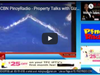 MCBN PinoyRadio – Property Talks with Gizele Mirasol October 6, 2019