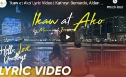 "Jason Marvin and Moira Dela Torre : ""Ikaw At Ako"" Hello Love Goodbye OST"