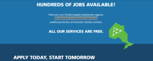 LOOKING FOR A JOB?… START working tomorrow!