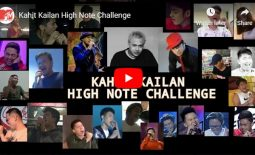 "Watch: ""Kahit Kailan"" High Note Challenge"