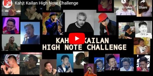 """Watch: """"Kahit Kailan"""" High Note Challenge"""