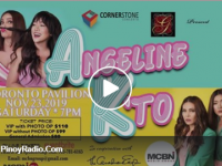 Watch: Angeline K 'TO, Concert Namin To in Toronto on Nov 23, 2019