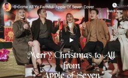 "Watch: ""O Come All Ye Faithful"" – Apple Of Seven Cover"