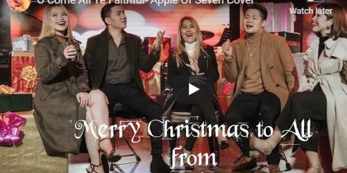 """Watch: """"O Come All Ye Faithful"""" – Apple Of Seven Cover"""