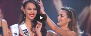 Catriona Gray crowning moment as Miss Universe 2018