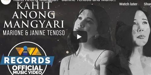 "Watch: #NextBigThing ""Kahit Anong Mangyari"" by Janine Teñoso and Marione music video"