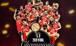 TORONTO RAPTORS WINS THE NBA Finals 2019 Championship