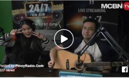 Pinoy Radio Center Stage : Patricia Mari  (1/29/2017)