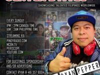 Join the Stars on Ryan Pepper's  Pinoy Radio Center Stage