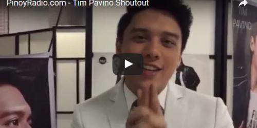 Tim Pavino Shoutout