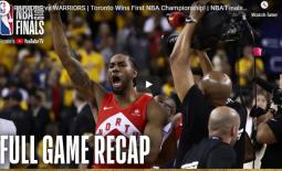 CONGRATULATIONS! TORONTO RAPTORS: NBA Finals 2019 Champions