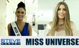 Watch Miss Universe Pia Wurtzbach and Miss Colombia Ariadna Gutierrez answer same questions